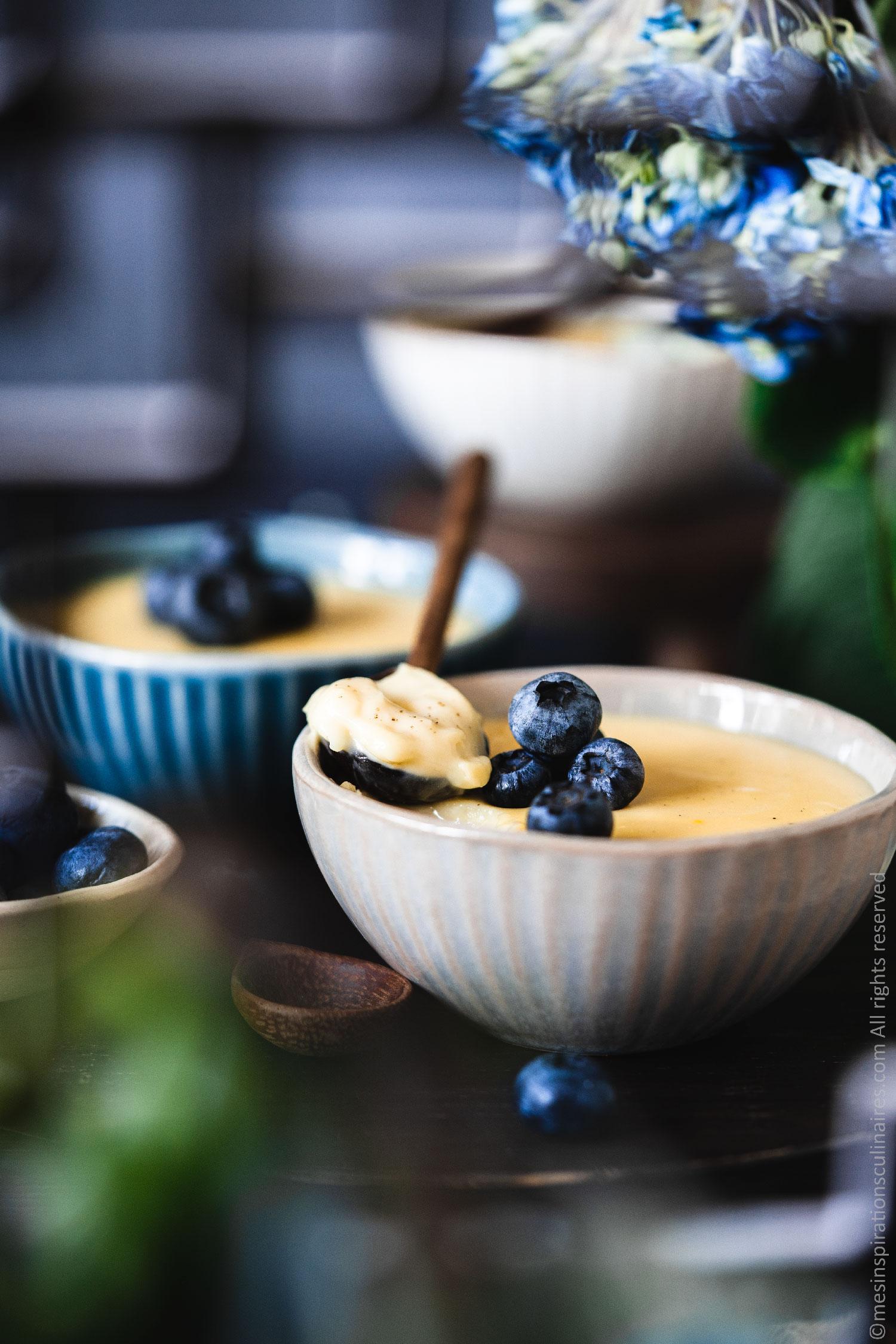 crème à la vanille de Cyril Lignac
