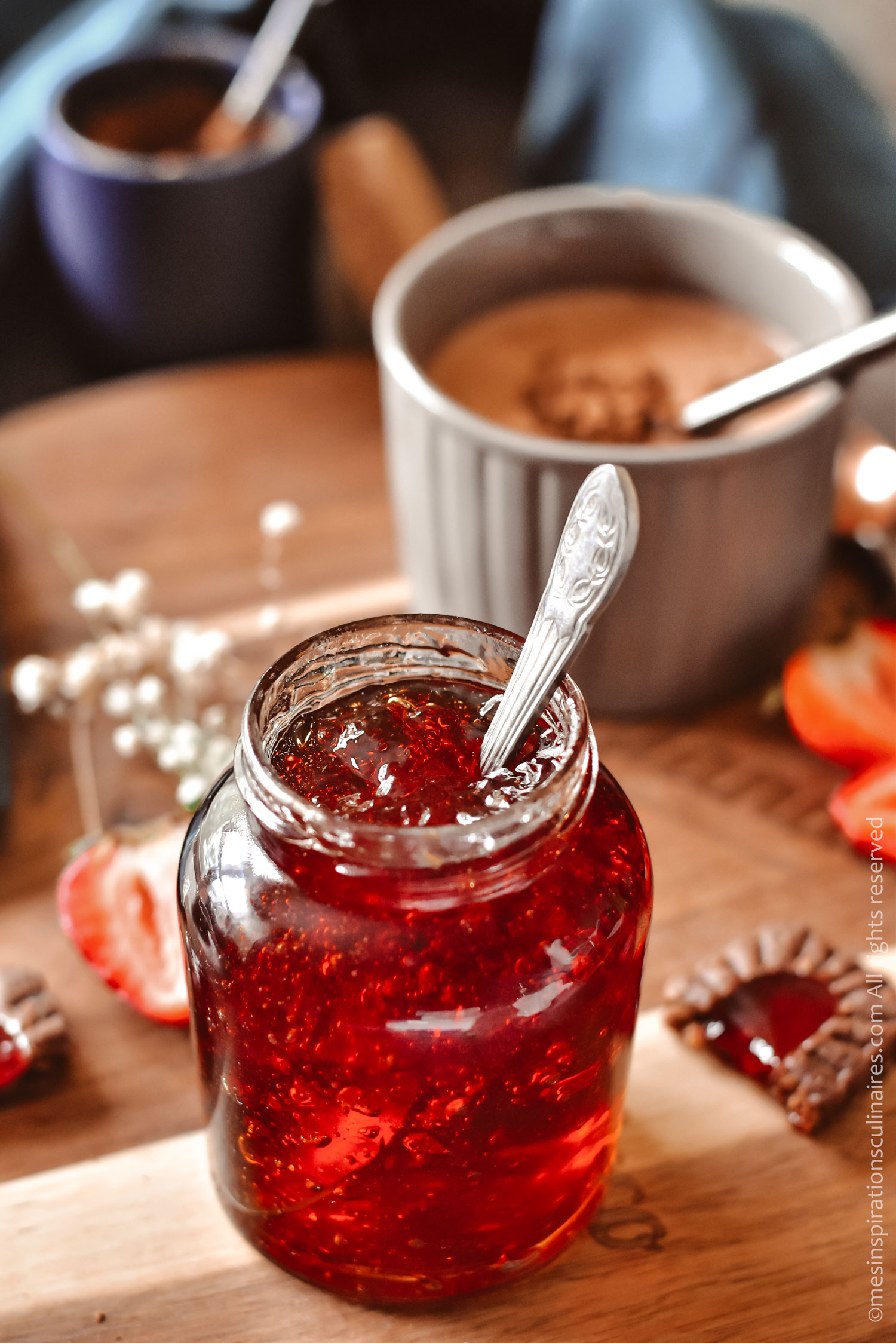 gelée de fraise maison