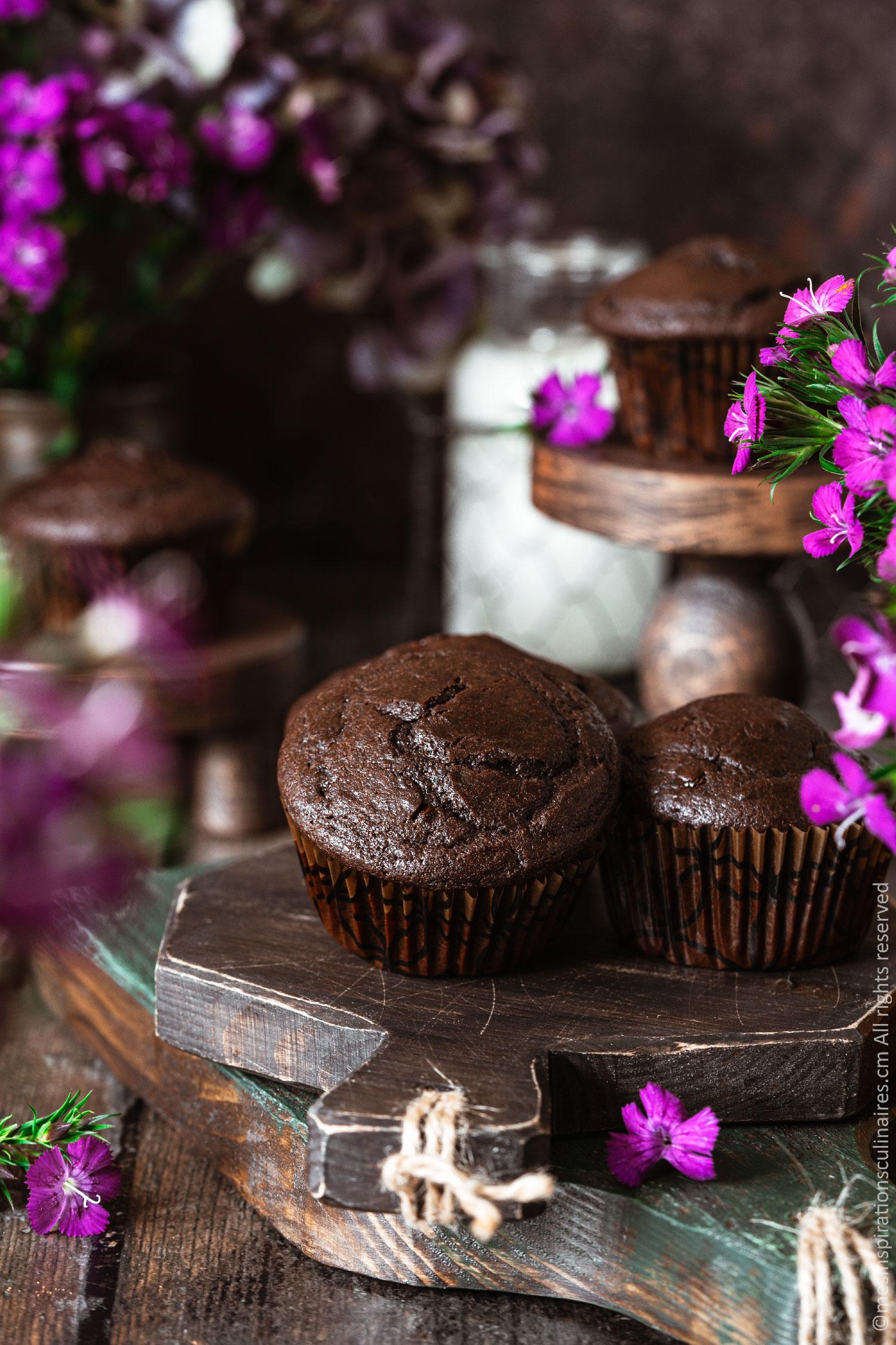 Muffin au chocolat de Cyril Lignac