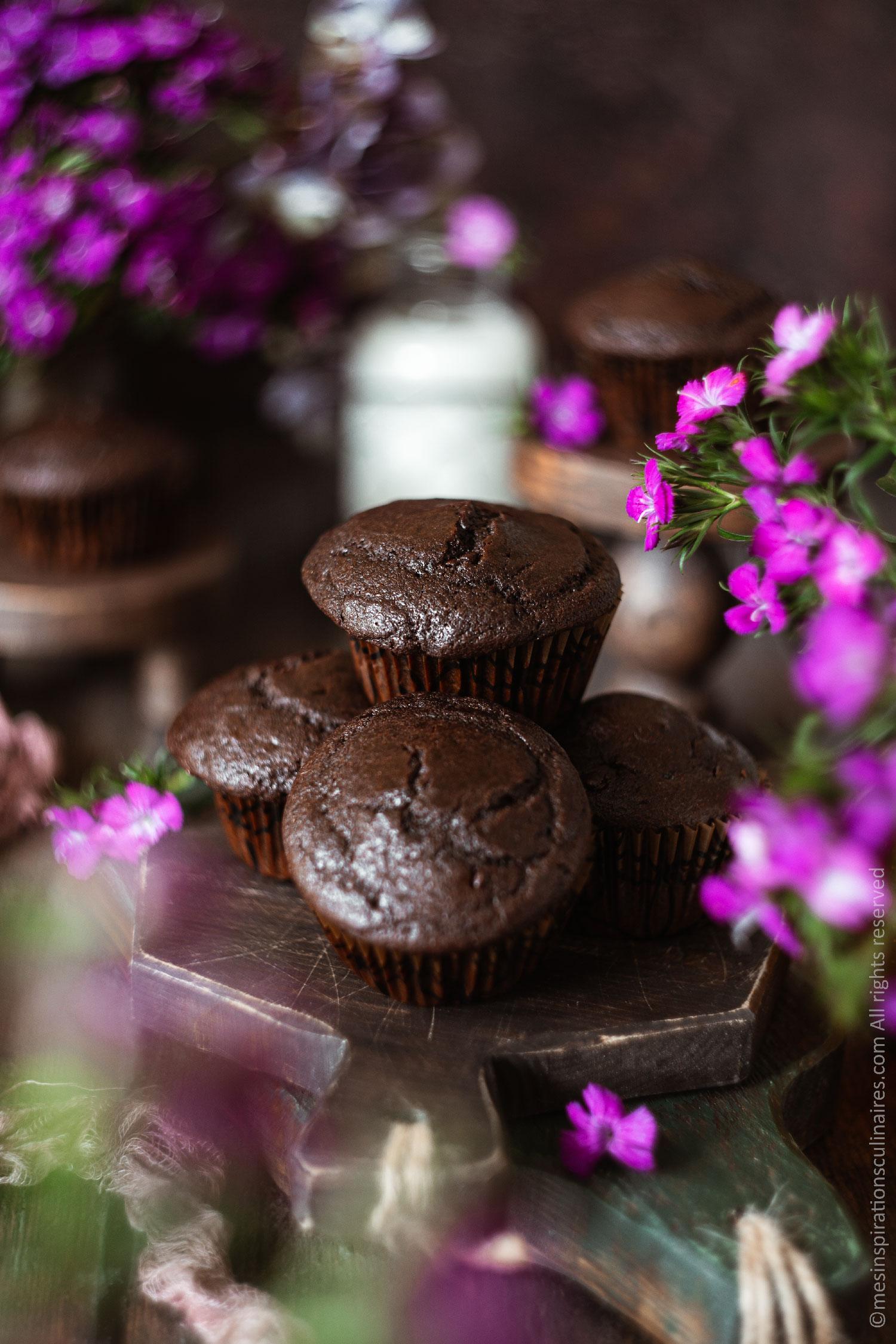 Muffins de Cyril Lignac moelleux au chocolat