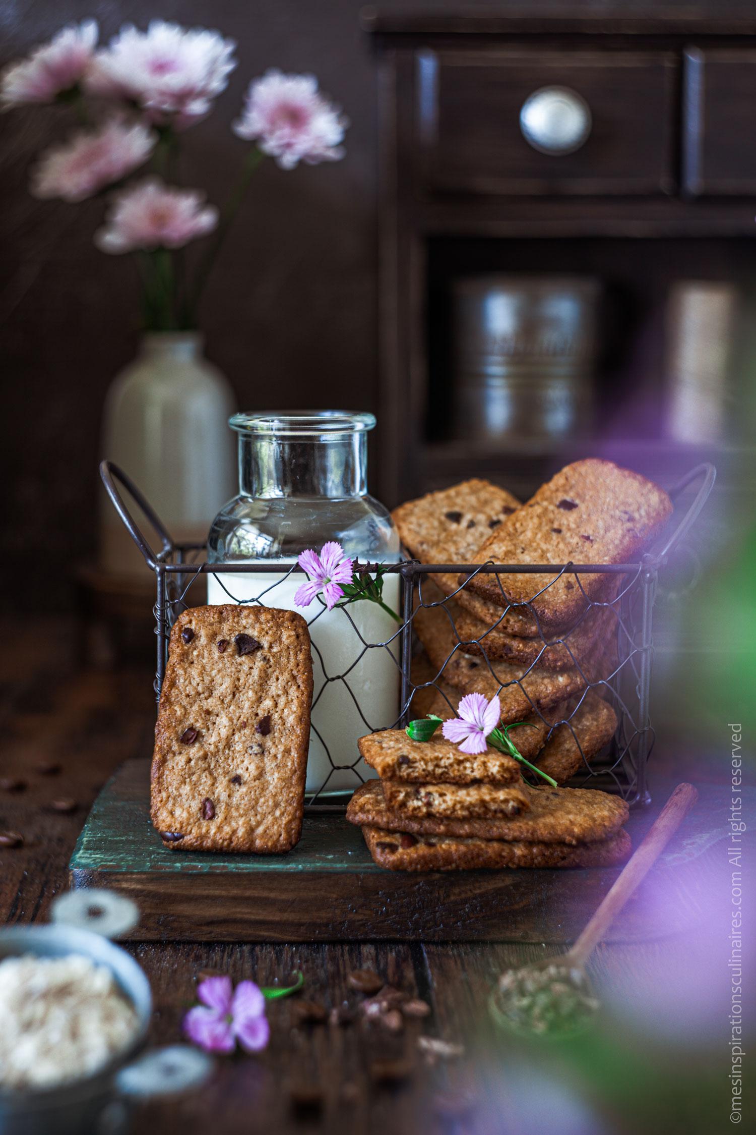 Biscuits maison façon Belvita petit dejeuner