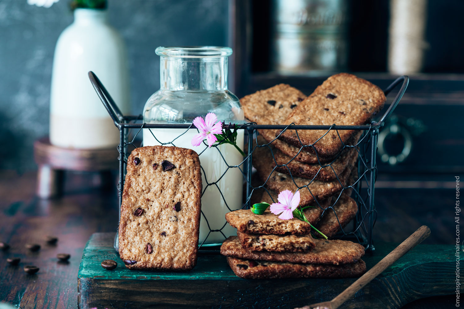 Biscuits au flocon d'avoine façon Belvita