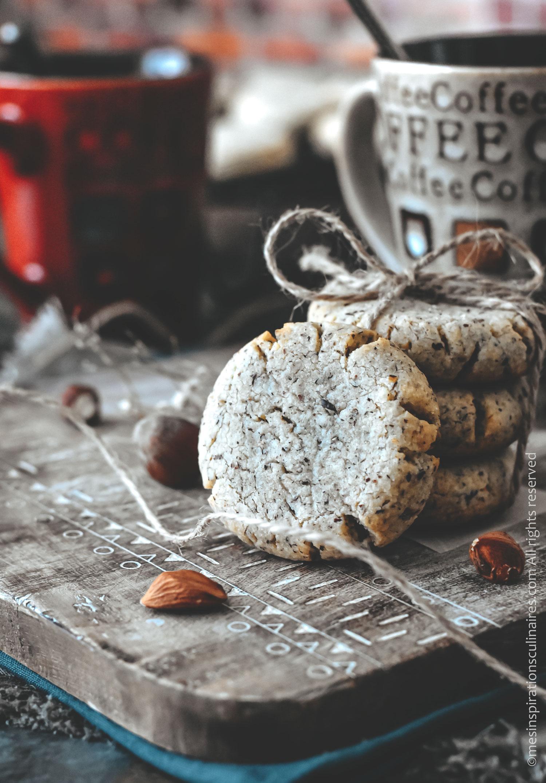 Biscuits sans gluten aux noisettes
