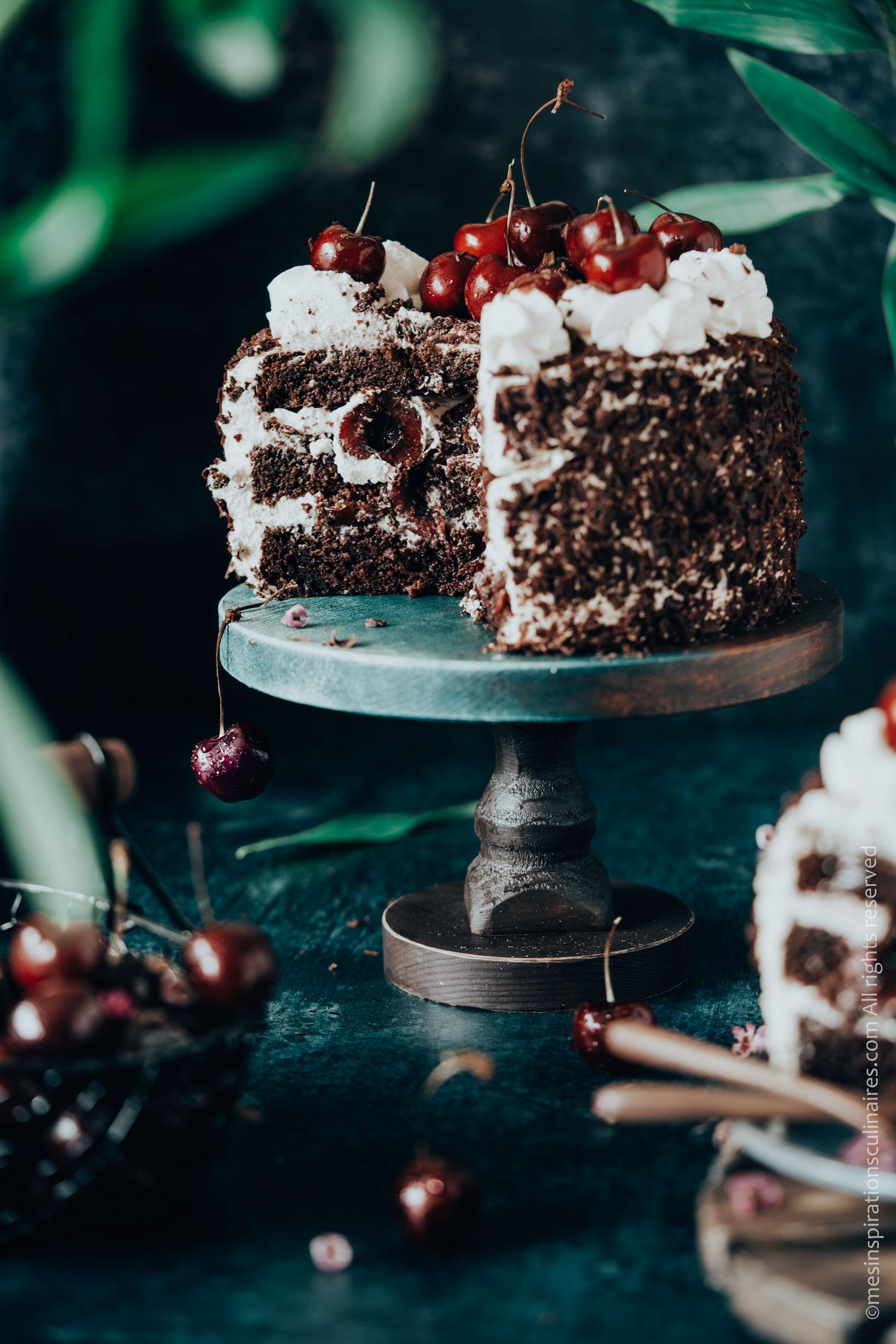 Gâteau allemand forêt noire