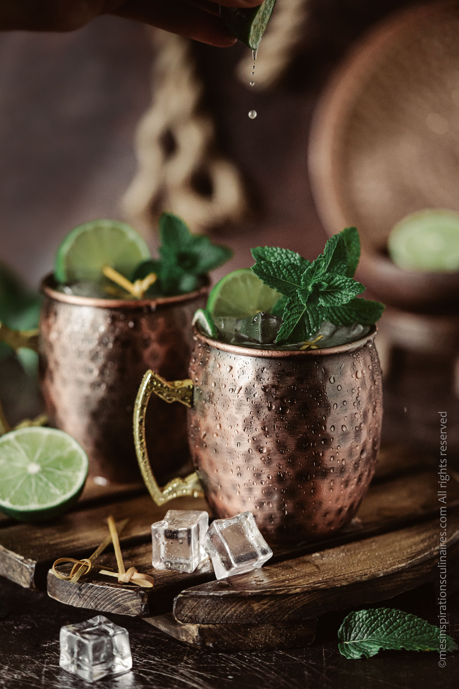 Moscow Mule cocktail sans alcool