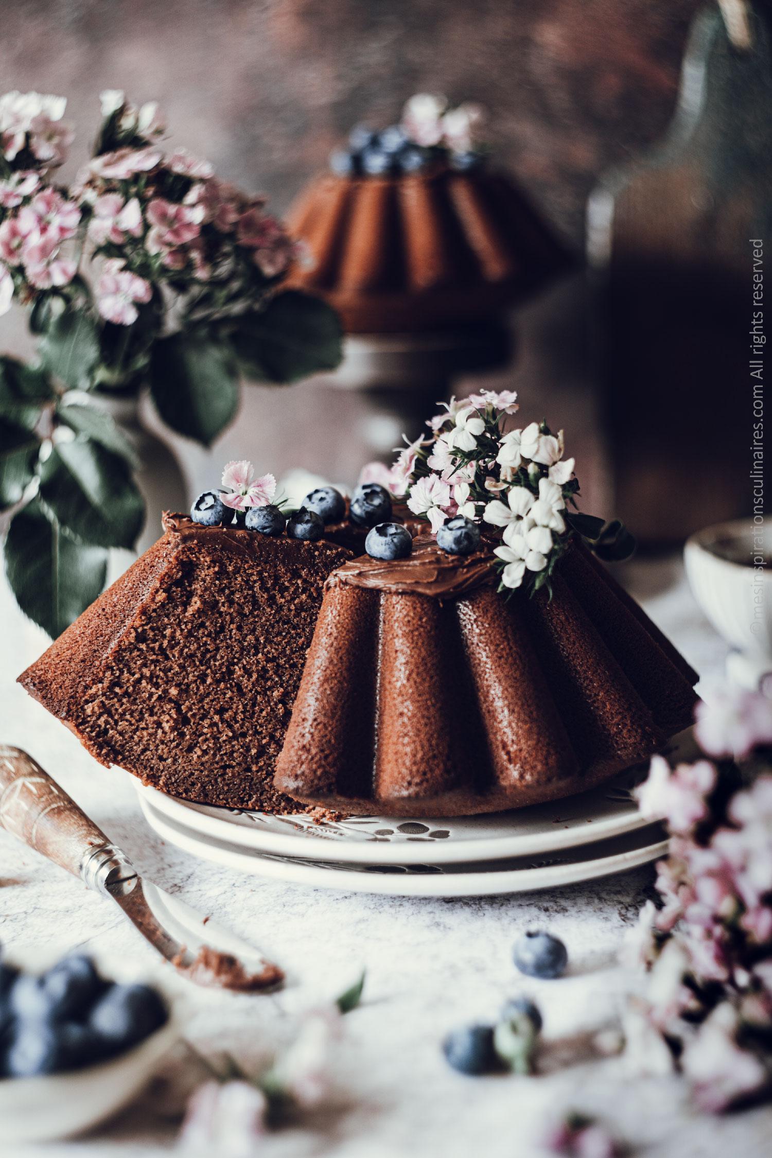 recette sponge cake chocolat et lait chaud