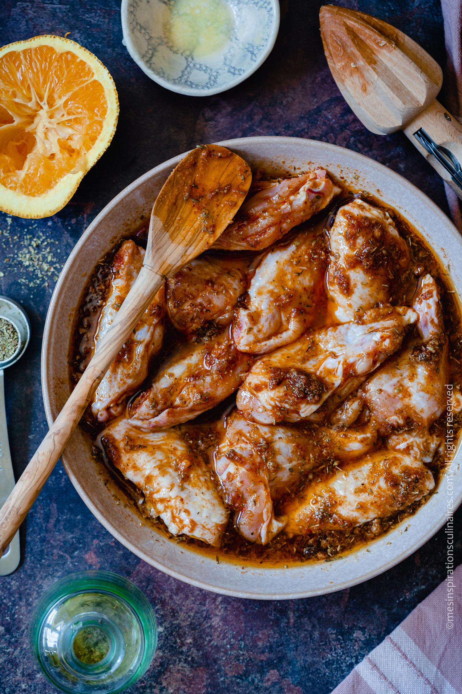 marinade pour poulet la meilleure recette