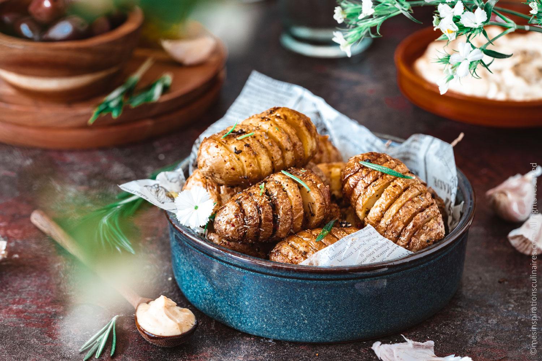 Pommes de terre grenaille au four