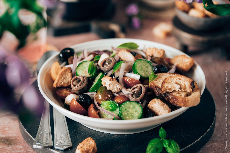 Panzanella, salade italienne