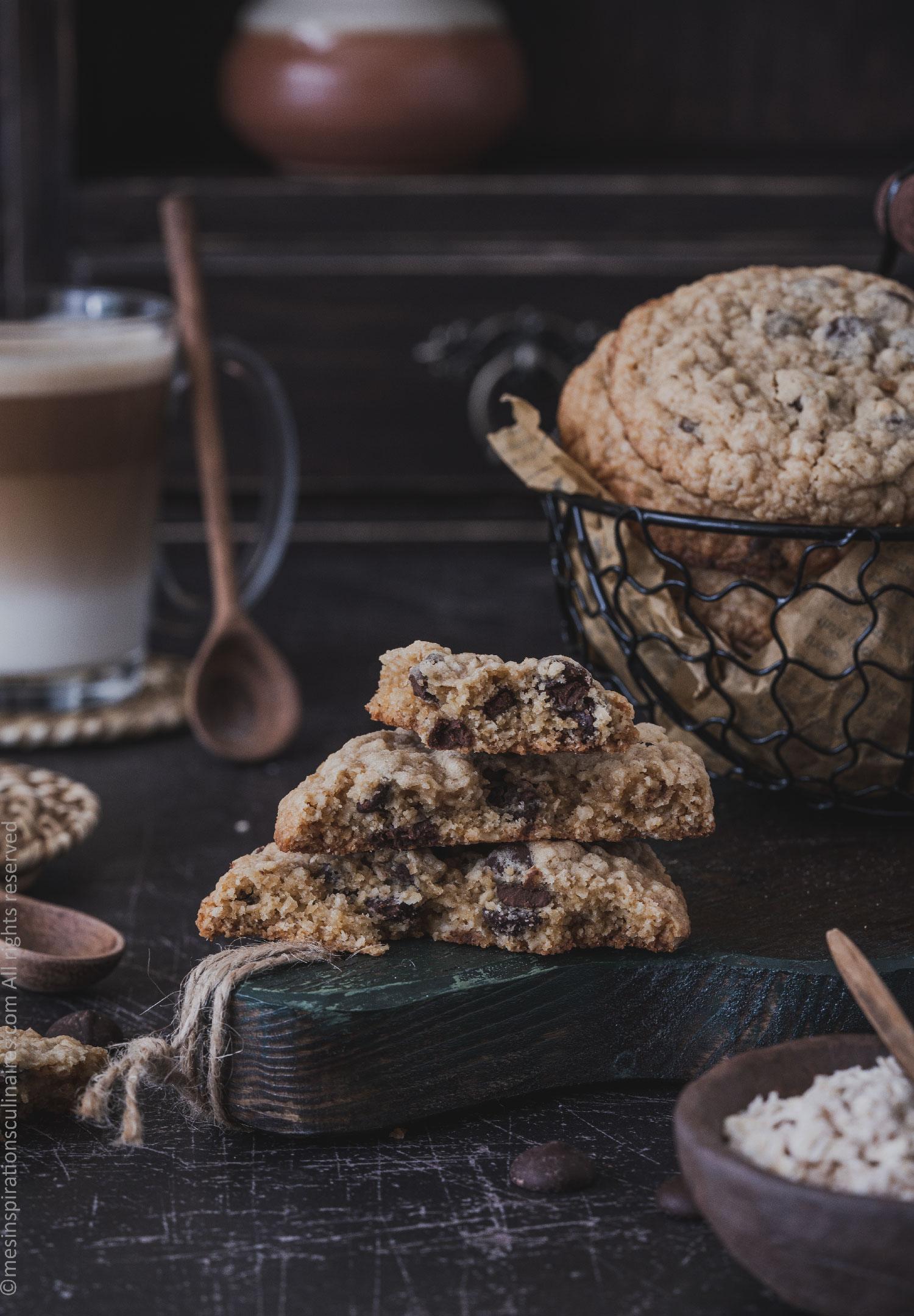 cookies sans gluten healthy aux flocons d'avoine