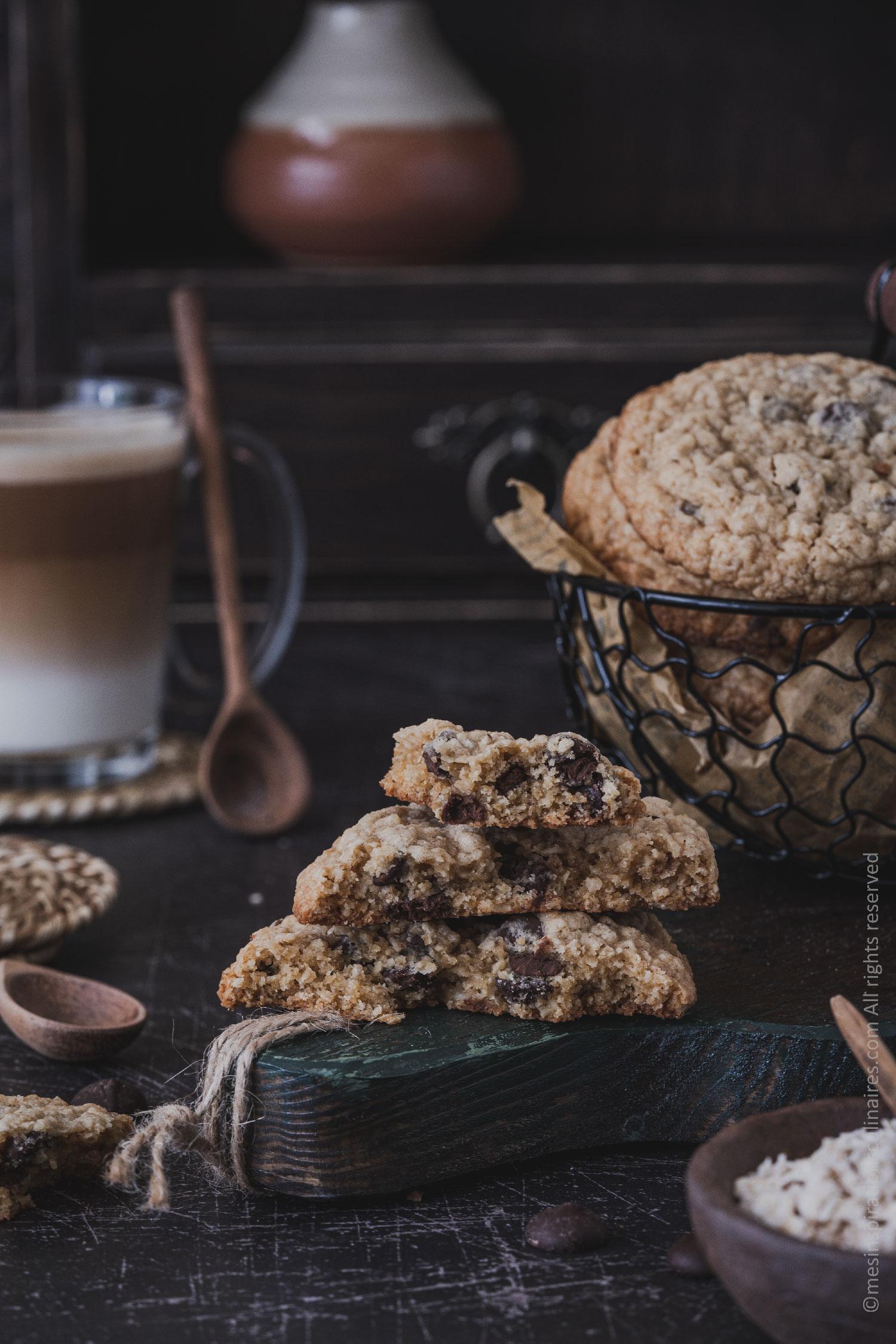 cookies healthy aux flocons d'avoine (sans gluten)
