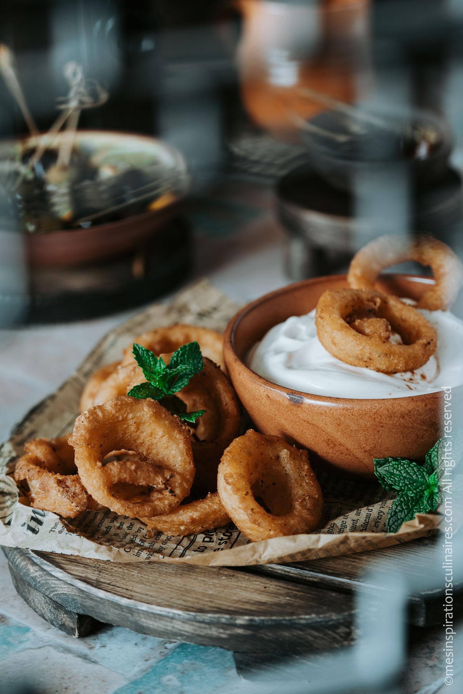 recette oignon frit
