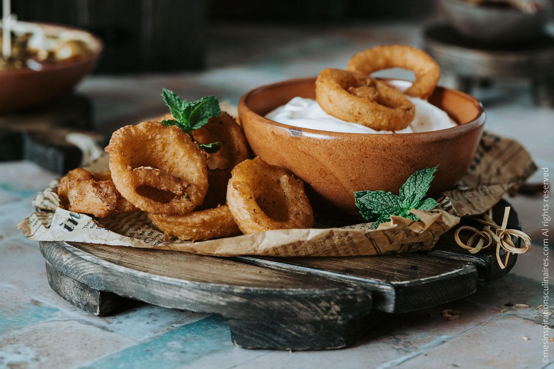 Oignons frits recette maison
