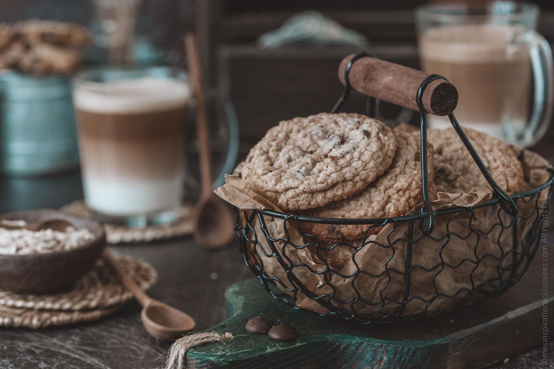 Cookies healthy aux pépites de chocolat