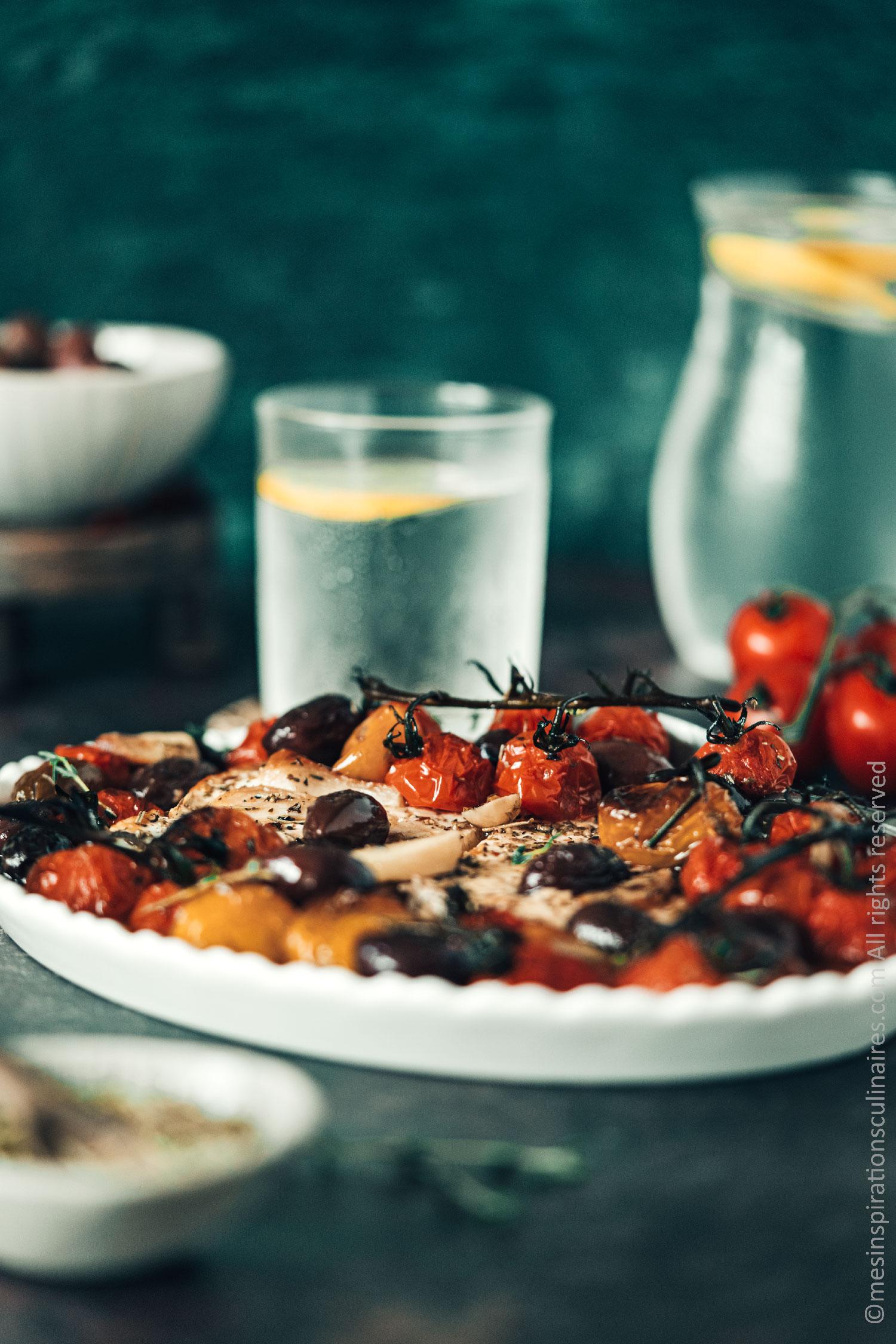 recette de feta au four roties aux olives