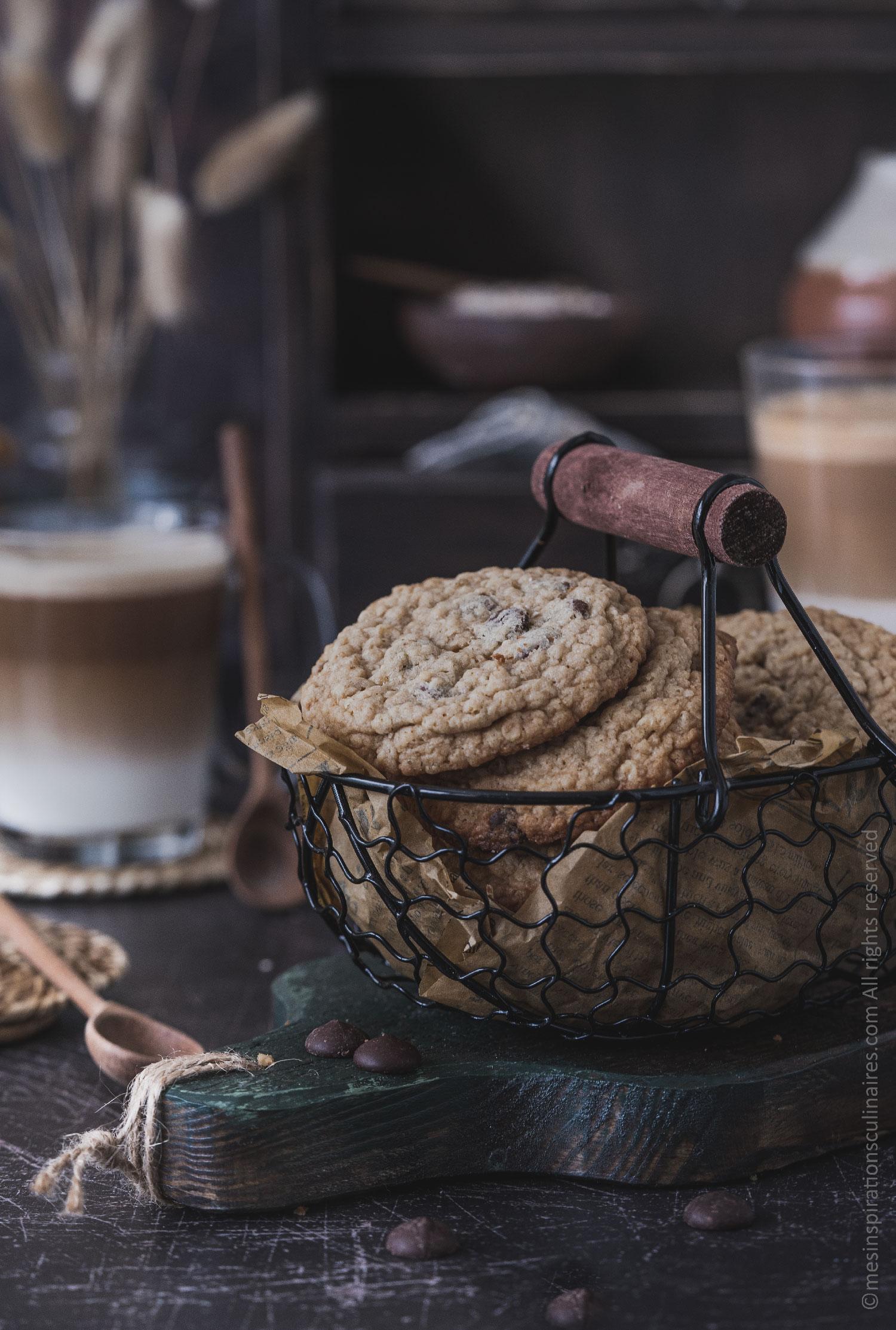 recette biscuits sans gluten aux pépites de chocolat