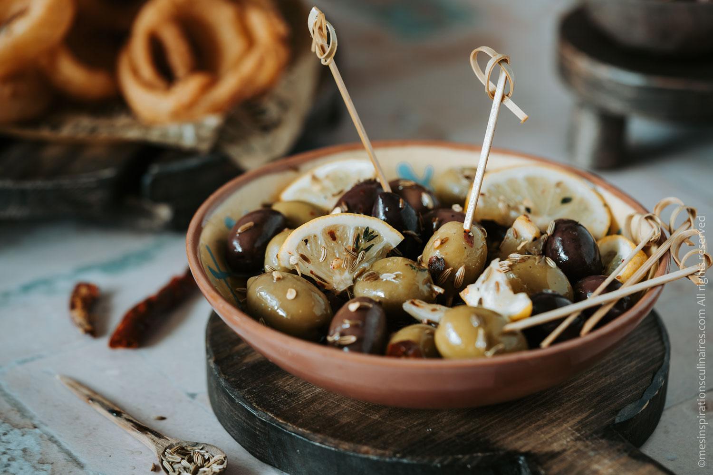 olives saumure