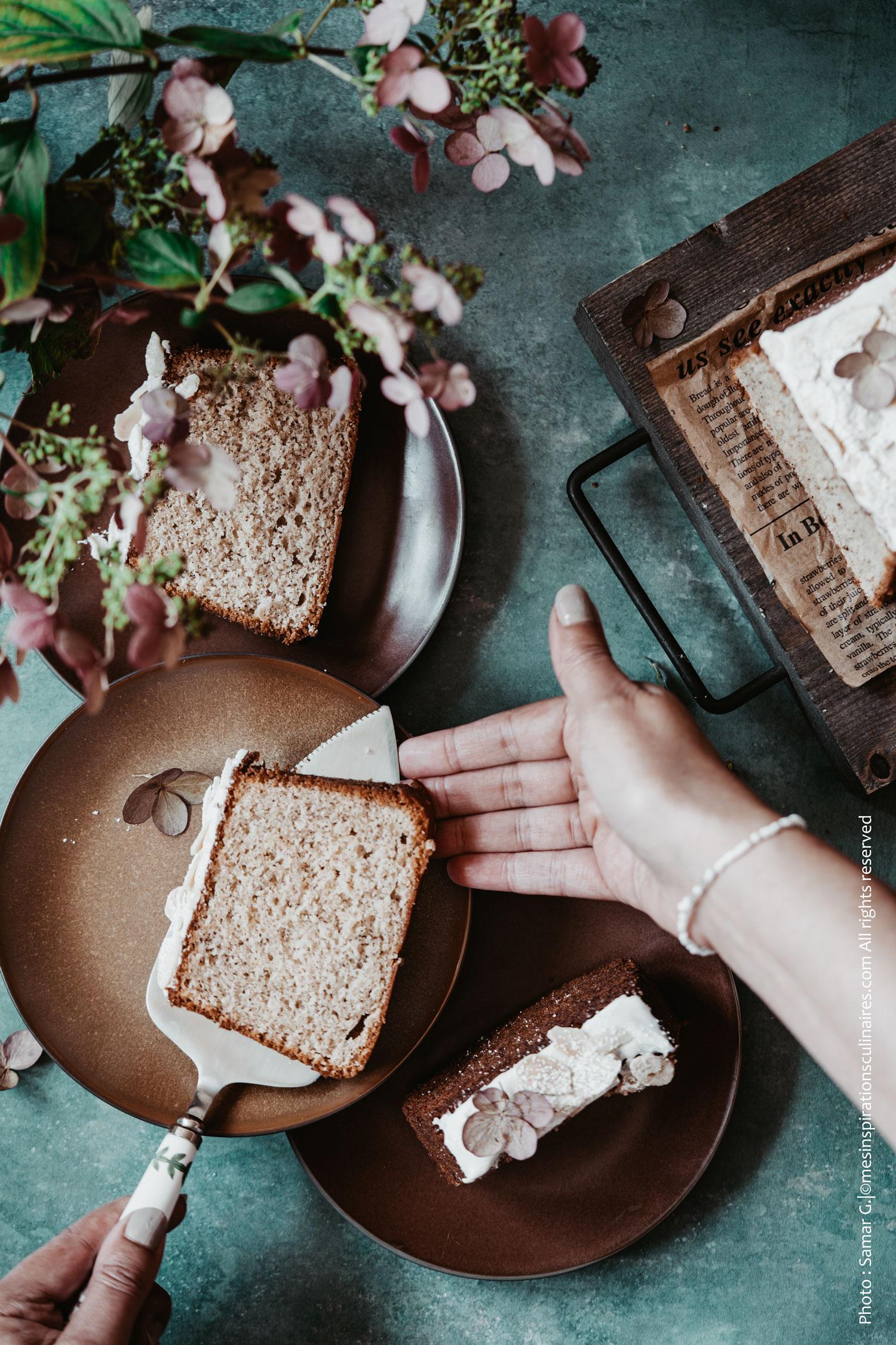 Gâteau a la vanille cyril lignac