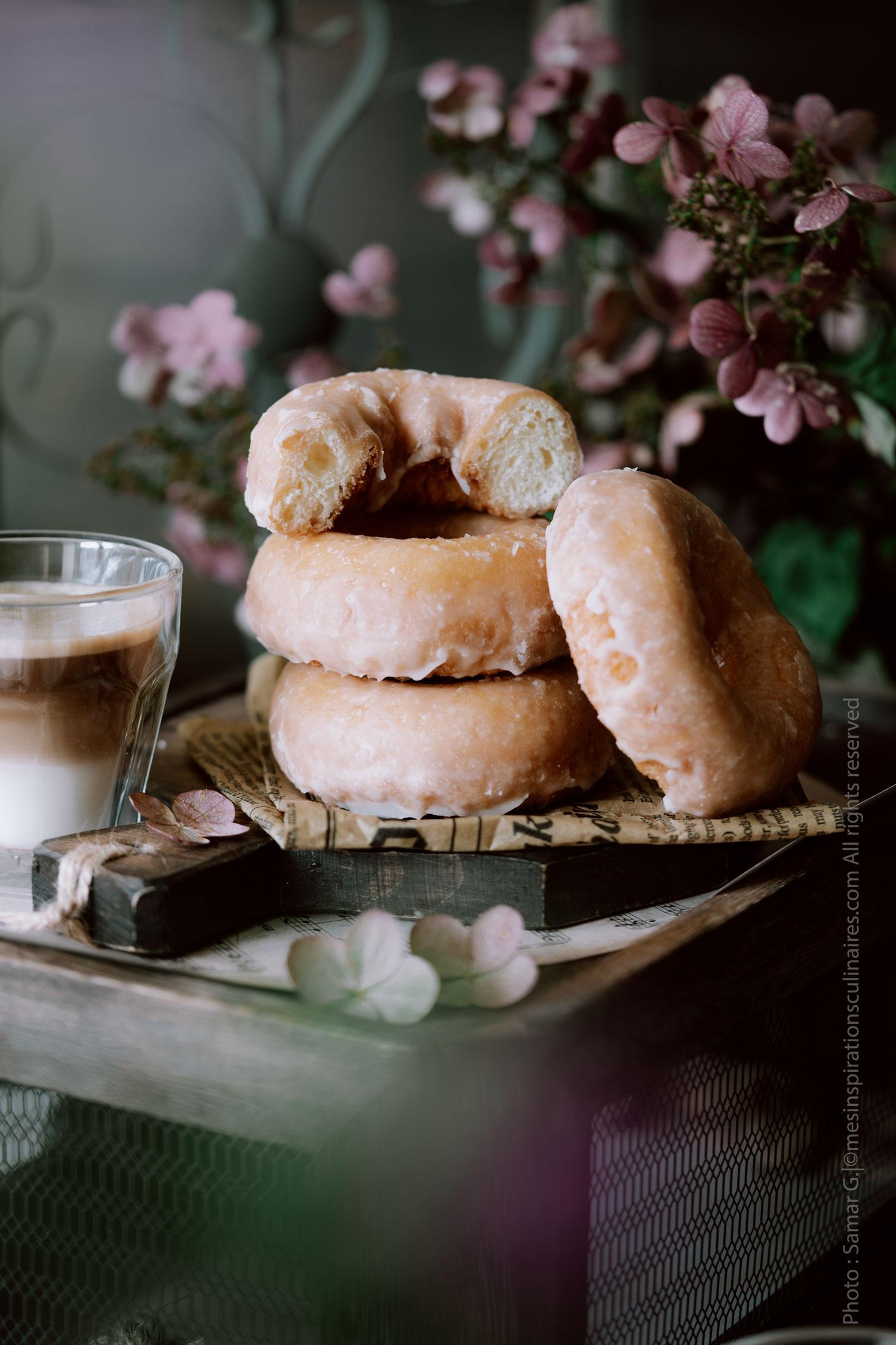 Les donuts, recette traditionnelle au glaçage