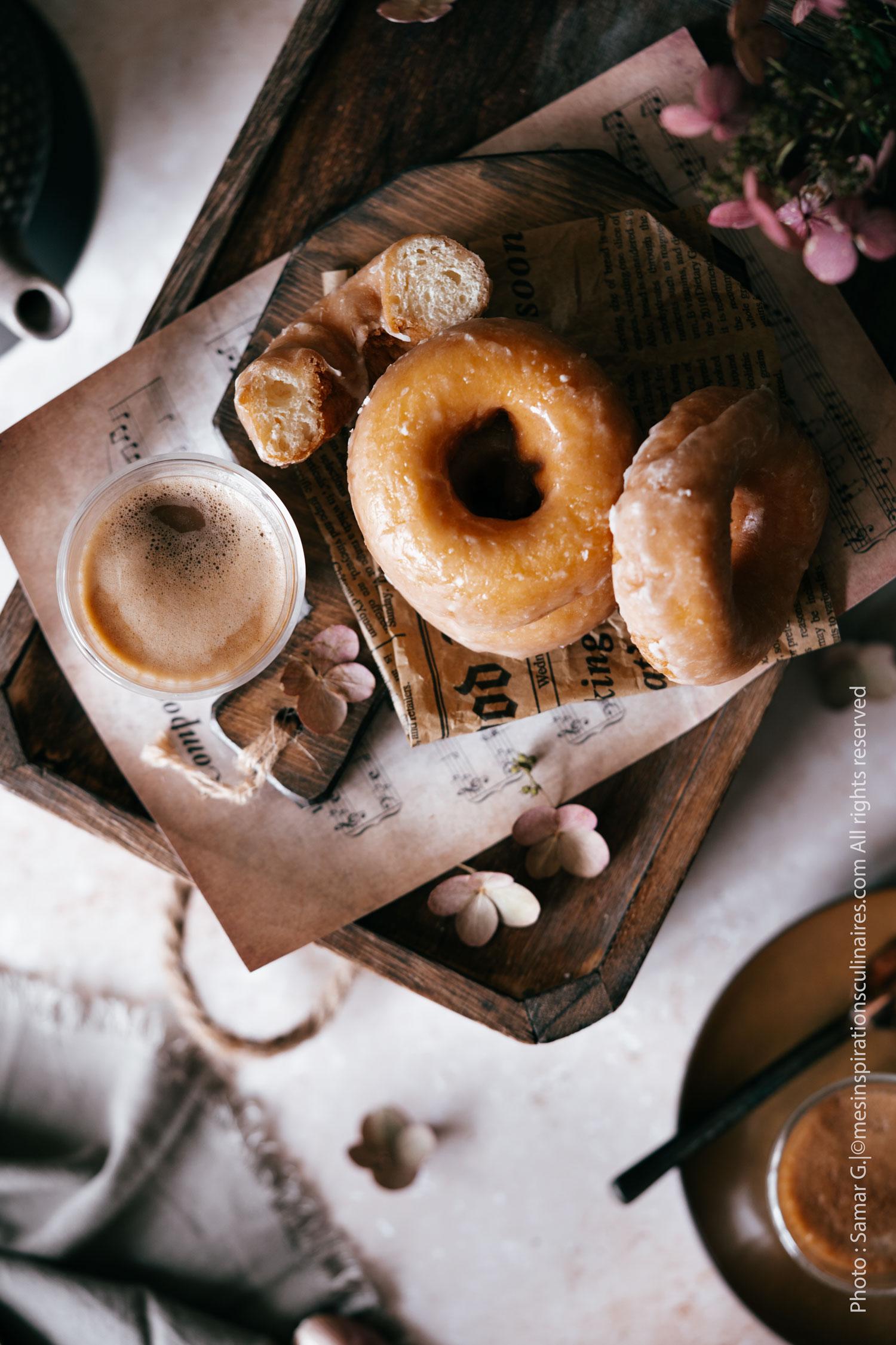 Donut traditionnels au sucre