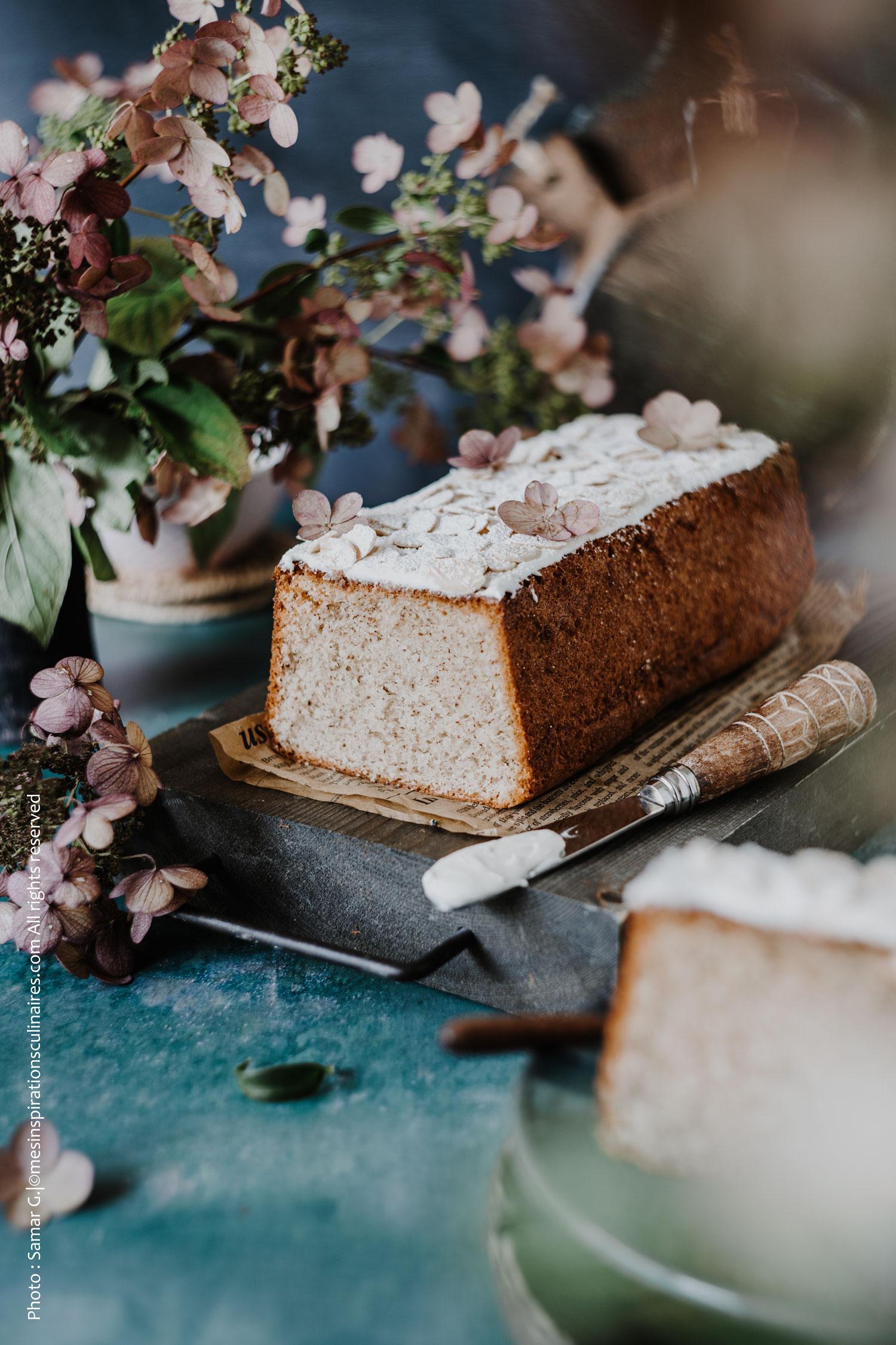 Cake moelleux à la vanille façon Cyril Lignac