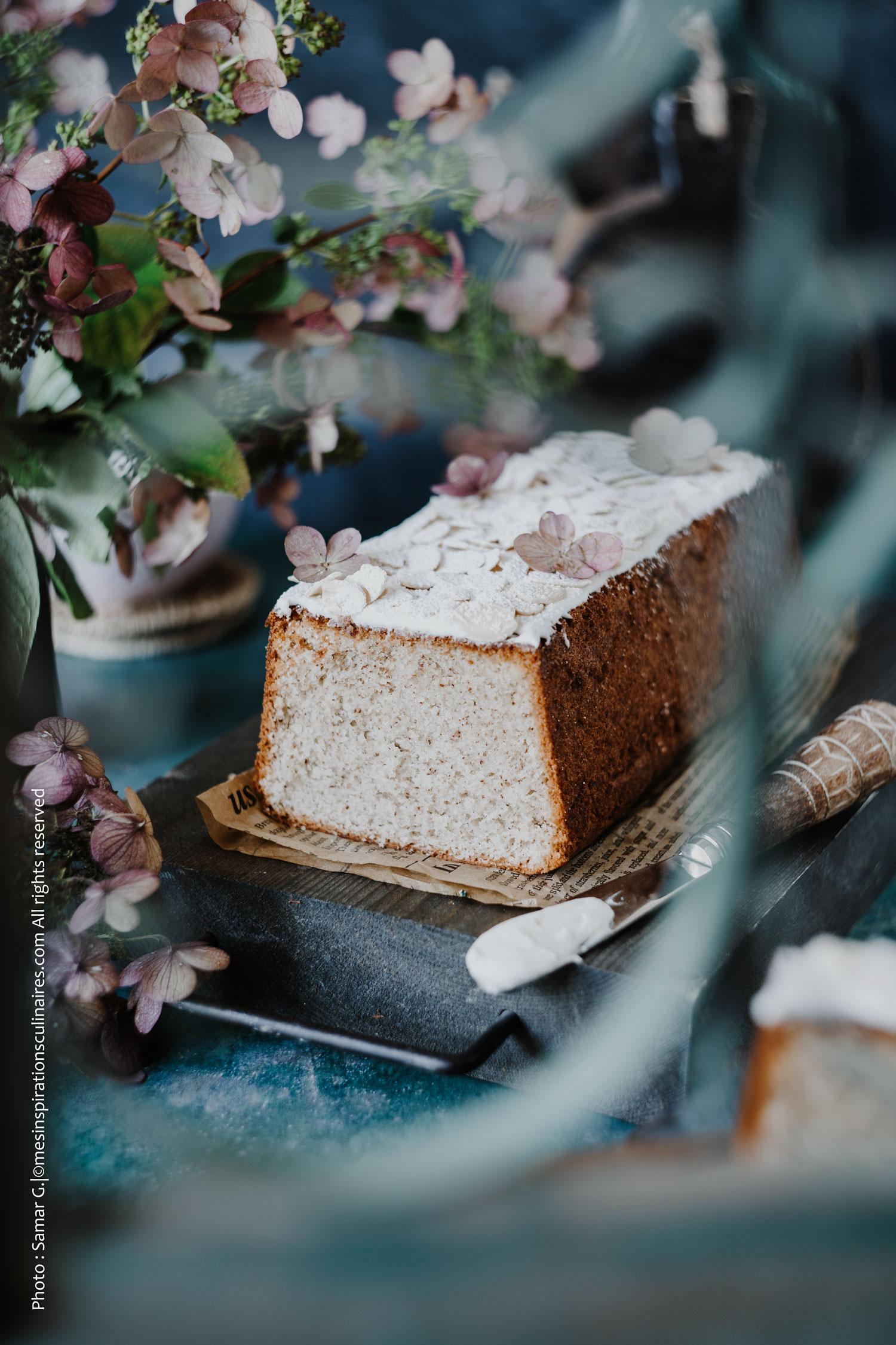 Gâteau moelleux a la vanille