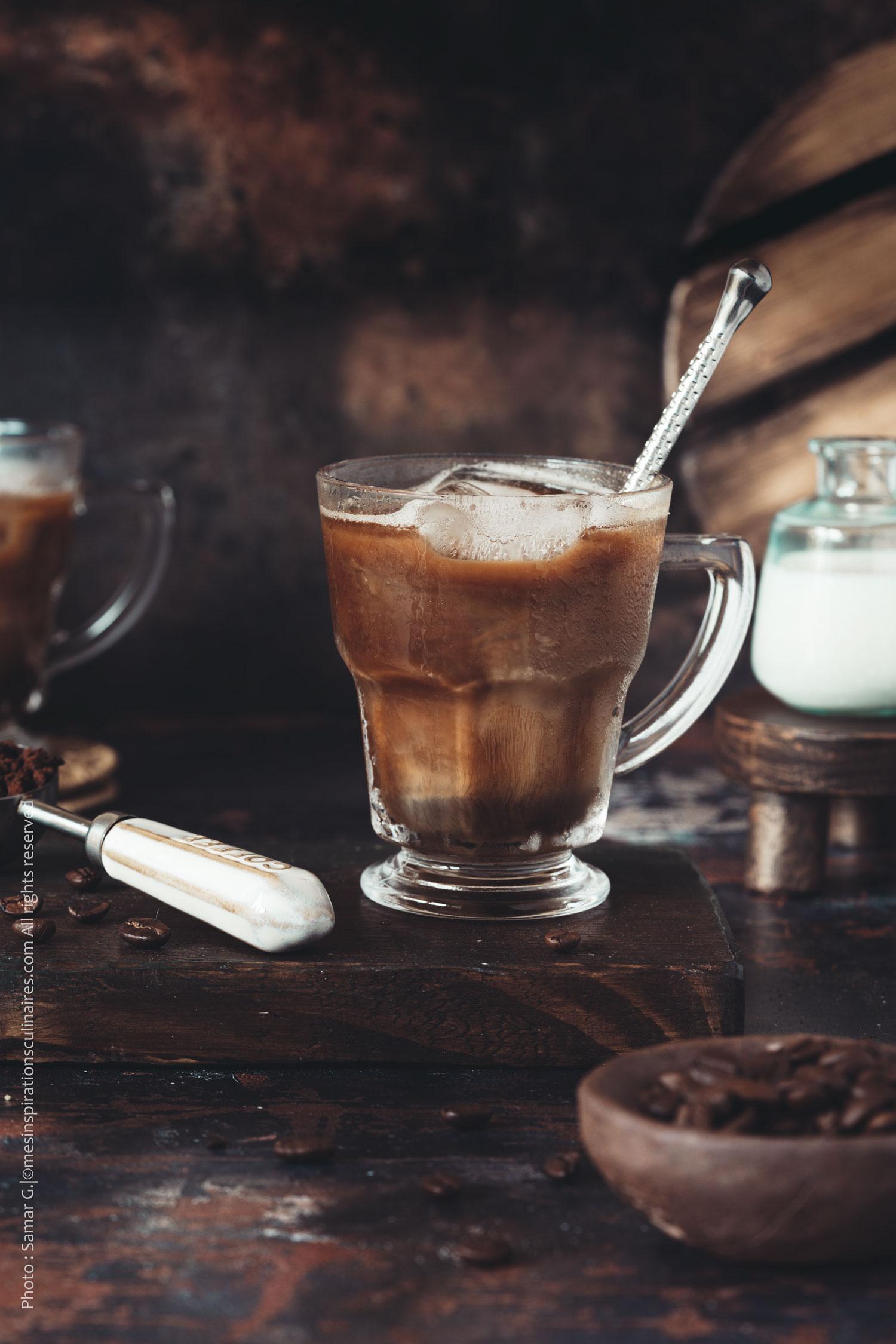 Iced coffee, recette du café glacé américain