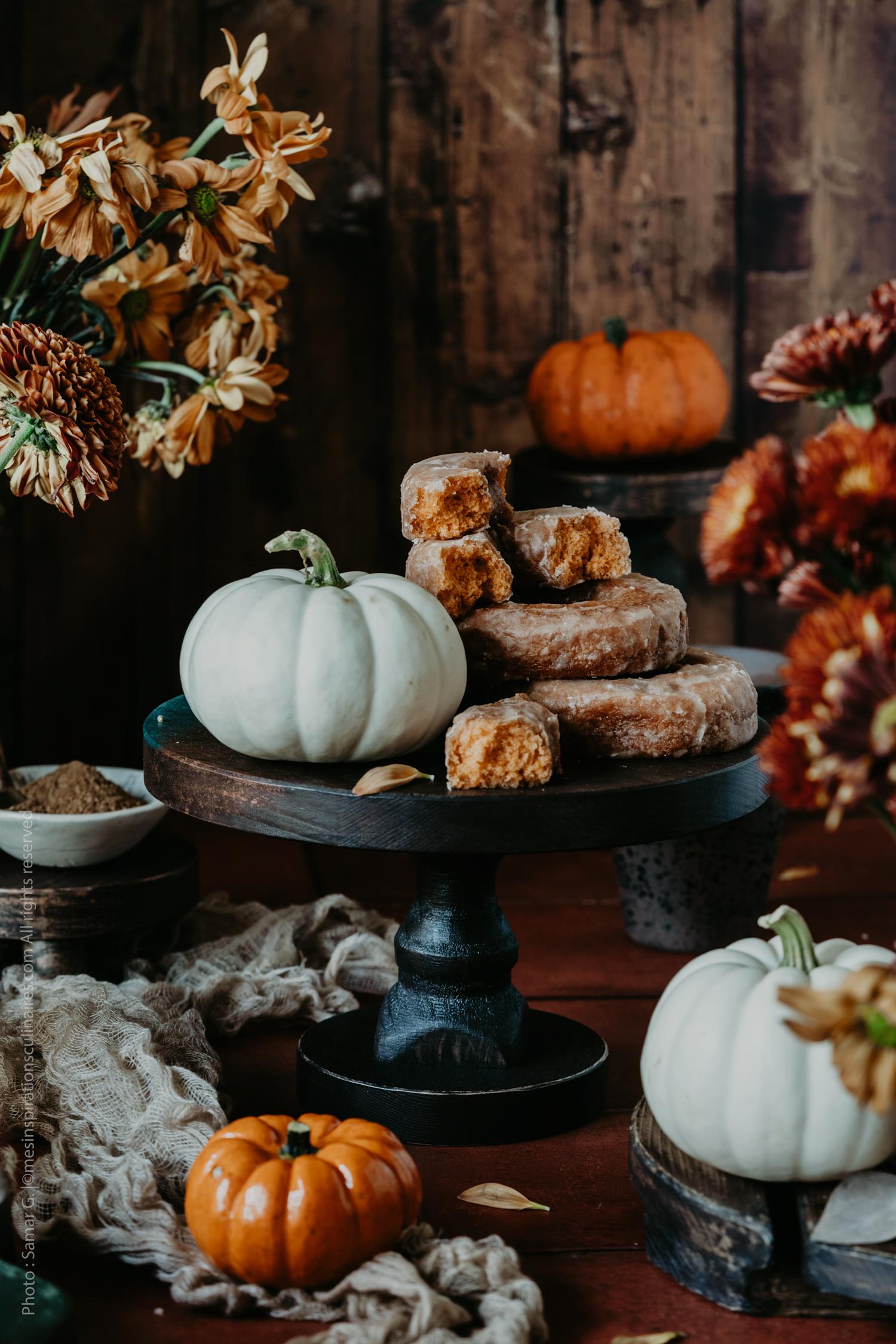 recette beignets au four à la citrouille (pumpkin)