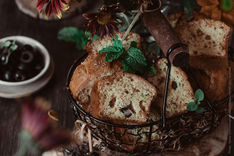 Cake aux courgettes et chèvre, recette apéritif facile