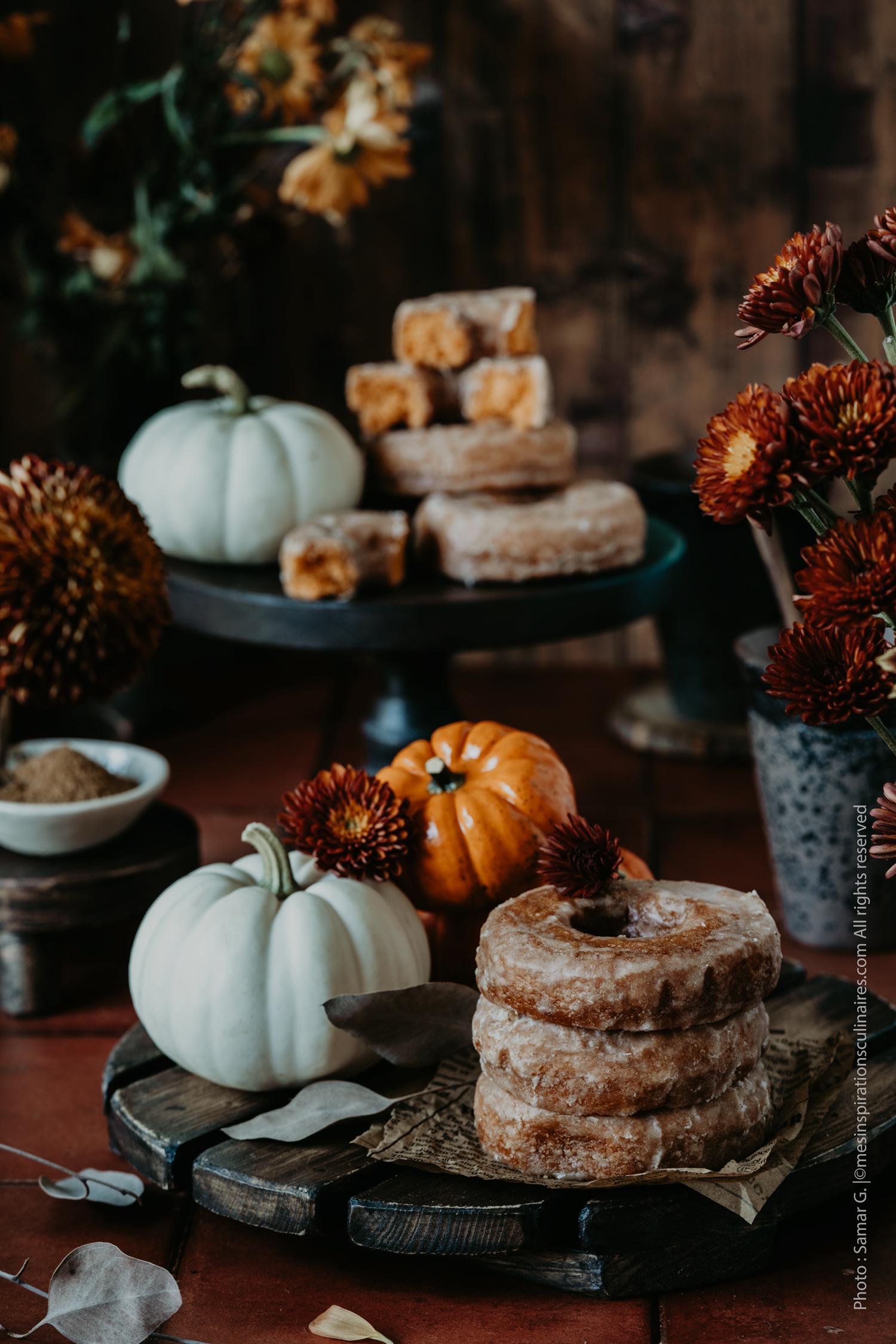 Recette beignets au four pumpkin